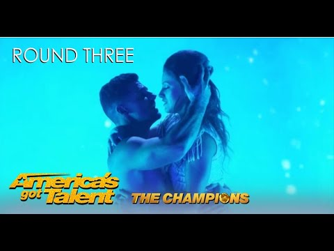 Duo Destiny: Poland's Winners Bring ROMANTIC Acrobatic Act To @America's Got Talent Champions 2020