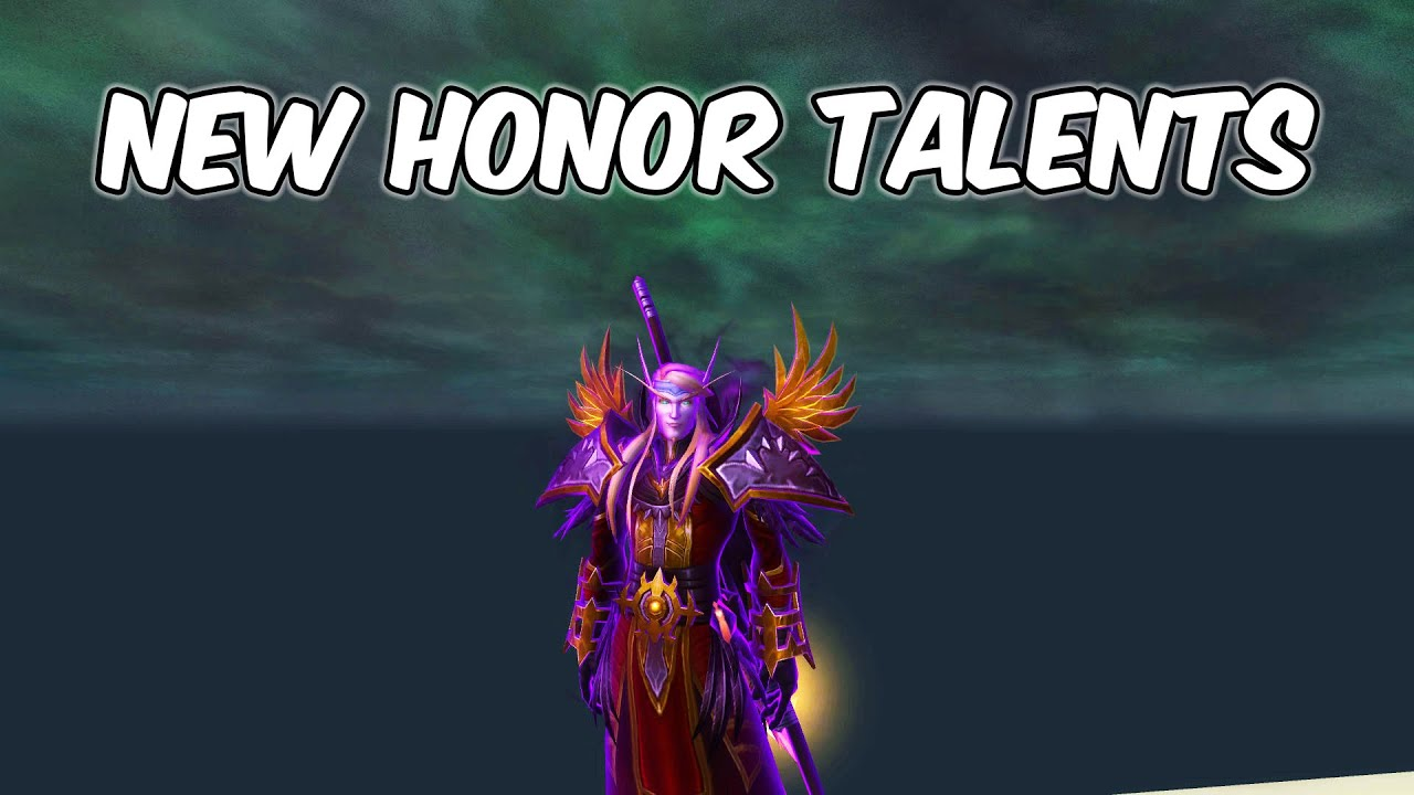 NEW Honor Talent - Shadow Priest PvP