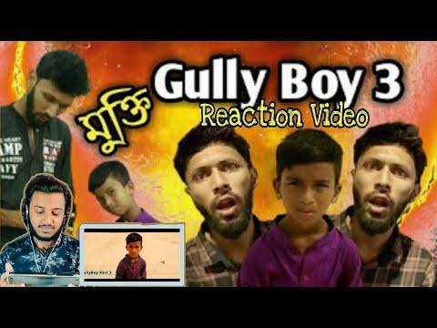 Gully Boy Part 3 (official Music Video) | Rana | Tabib | Bangla Rap Song | Reaction