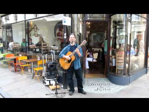 Nick Stephens Busking