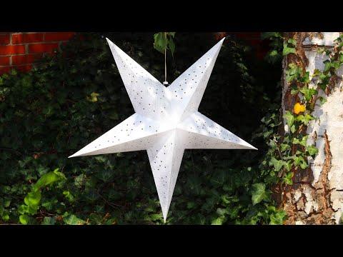 3D Paper Star / Star Lantern/ Ornament pentru Craciun/ Stea pentru Craciun