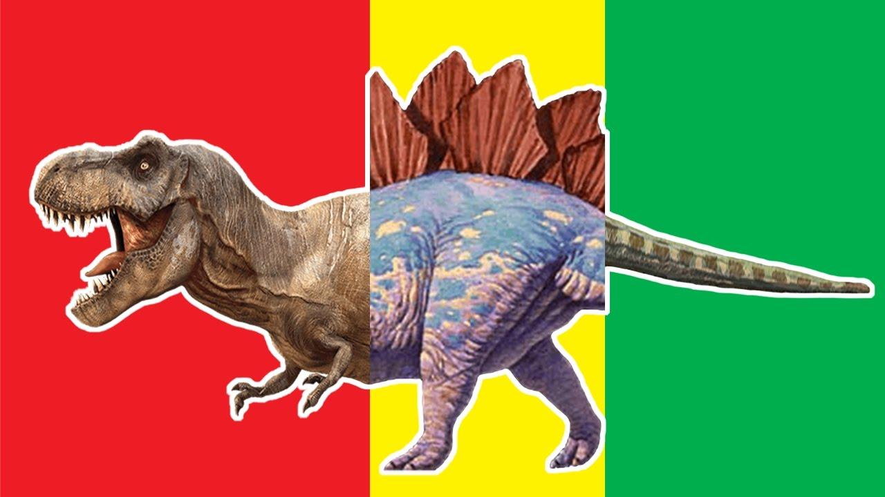 Wrong Heads Dinosaurs Match Up Game Dimetrodon