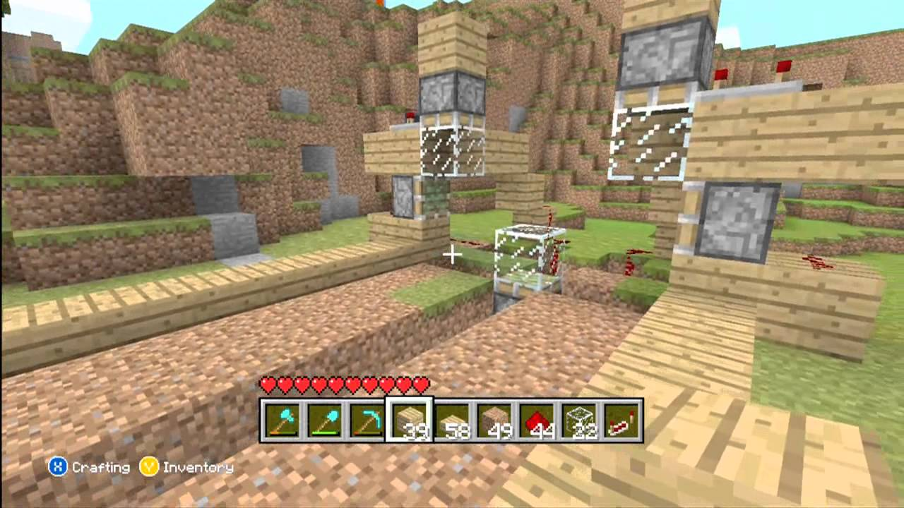How to Make An Advanced Automatic Wheat Farm-Minecraft Xbox 10 Edition
