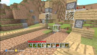 How to Make An Advanced Automatic Wheat Farm-Minecraft Xbox 360 Edition