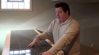Vlog #29 - How To Inexpensively Use Granite For Basement Wet Bar
