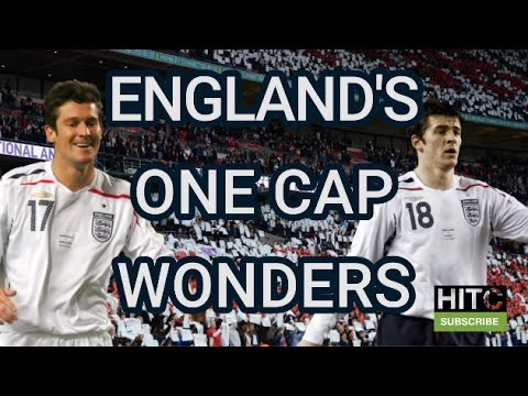 9 England One Cap Wonders