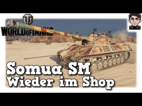 World of Tanks - Somua SM, wieder im Shop [deutsch | gameplay] thumbnail