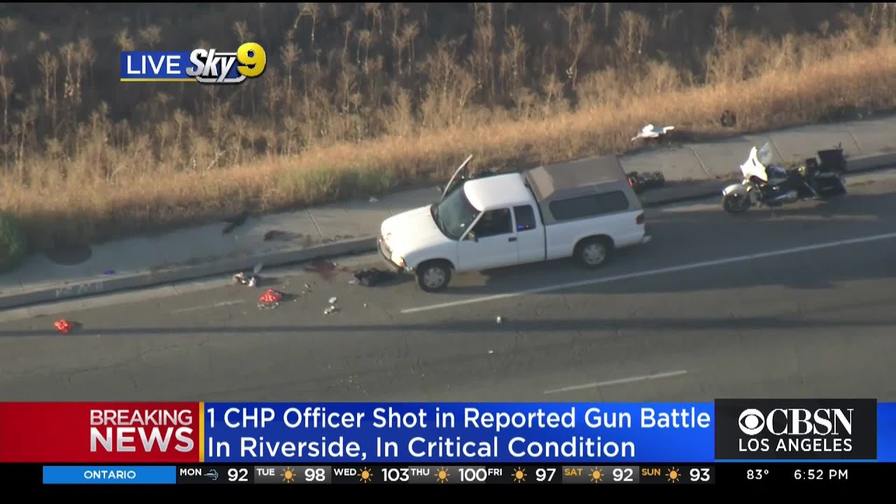 Photographer Recounts Officer-Involved Shooting On 215 Freeway In