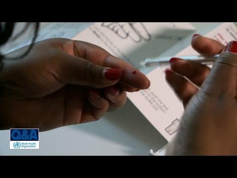 WHO: HIV self-testing - Questions and Answers