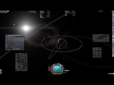 KSP RSS Syncom III (Geostationary Orbit)