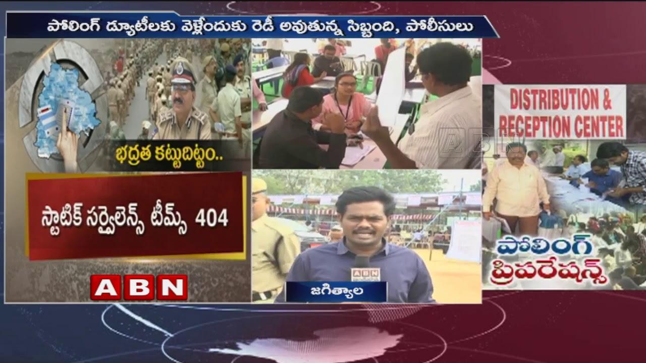 Telangana Elcetions 2018 | Live Updates on Polling Arrangements In