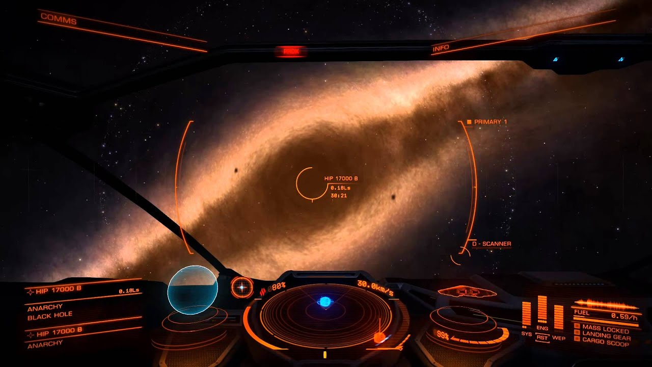 Elite: Dangerous -- Exploring a black hole - YouTube