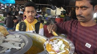 Habra Rail Station Hawker - Ghugni @ 7 rs plate - Indian Street Food