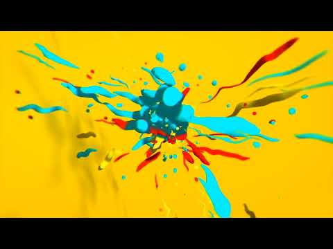 Explode Particular Logo | After Effects template
