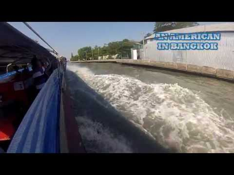 Getting Around Bangkok - Use The Boat Taxi! See Thailand From a Bangkok Water Taxi