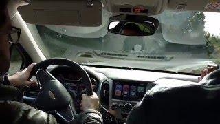 Test drive de Chevrolet Nuevo Cruze II 2016 con OnStar. Parte 5. Asistencia de emergencias