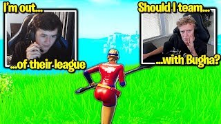 BUGHA *DROPS* TRIO, TEAMING w/ TFUE? (Fortnite)