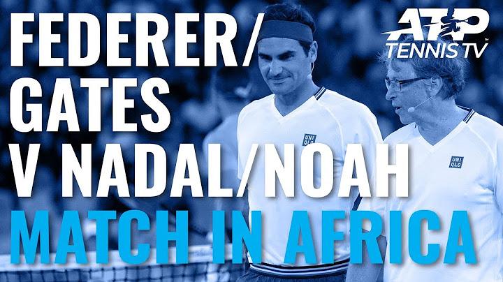 Permanent Link to Roger Federer & Bill Gates v Rafa Nadal & Trevor Noah | Match In Africa 2020 Doubles Highlights