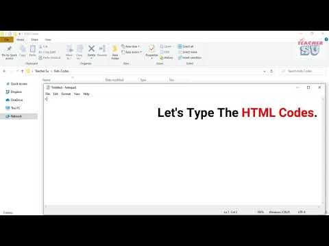 HTML Code For Kids | Teacher SU
