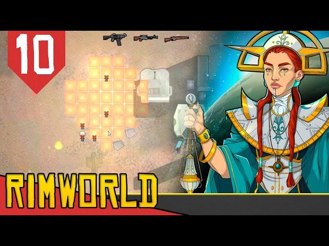 JAMANTAS VISITANTES, Mech Clusters, Luciferio e Catafratários - Rimworld Ideology #10[Gameplay PTBR]