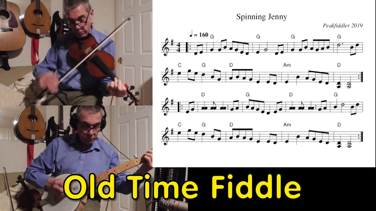 Old Time Fiddle Spinning Jenny Youtube