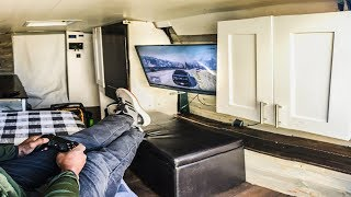BEST Urban Stealth Camping Van Tour