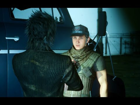 Final Fantasy XV Patch 1.10 Asking Talcott about The Dark World