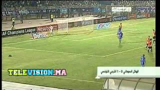 Al Hilal vs EST / 0-1 / Espérance Taraji / 02-10-2011 / CAF Demi-finale 2 2017 Video