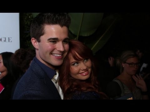 Debby Ryan & Spencer Boldman Interview - Teen Vogue Young Hollywood Party 2012