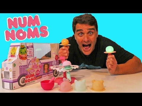 Num Noms Lights Freezie Pop Maker Set ! || Toy Reviews