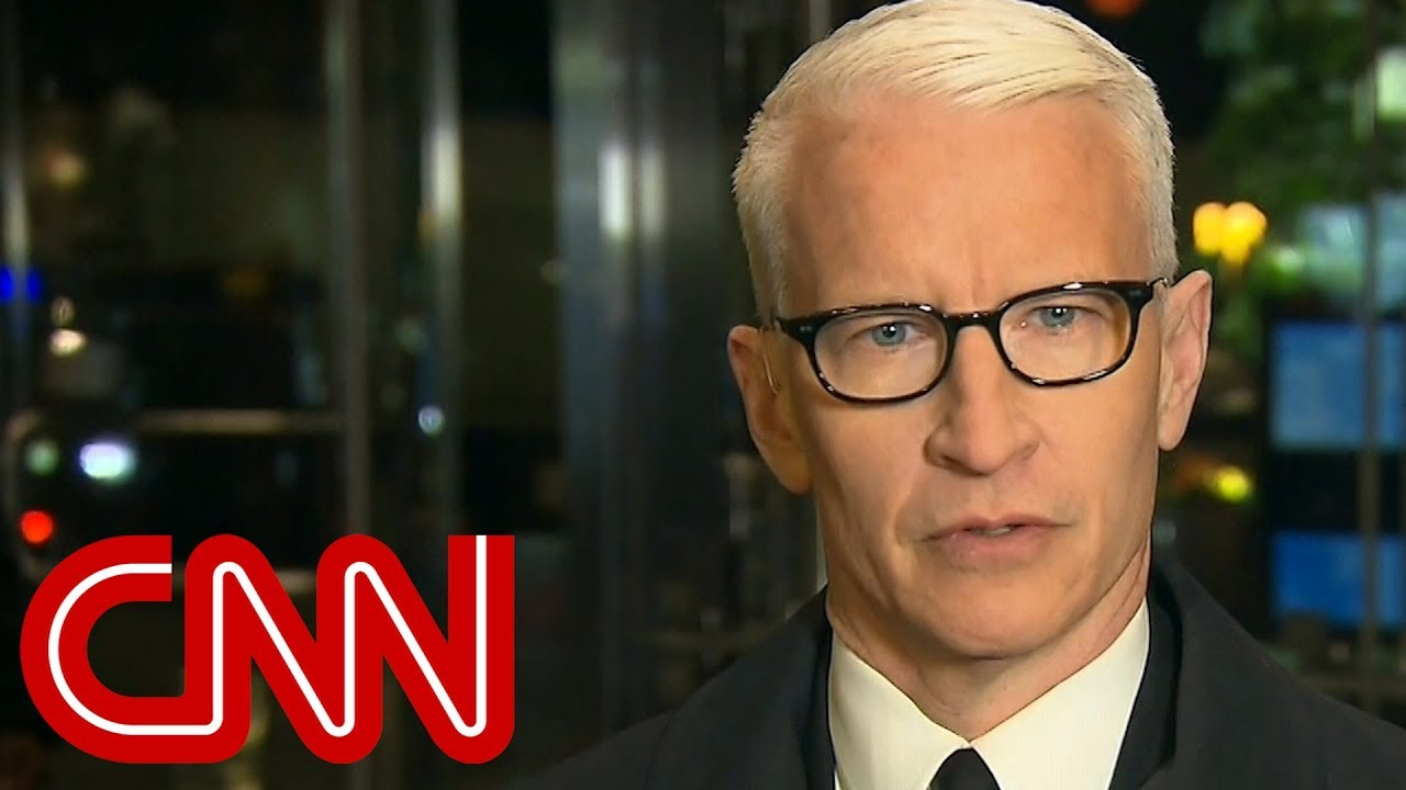 Anderson Cooper calls out Trump's hypocrisy on unity
