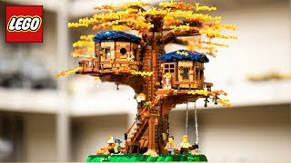 LEGO Tree House TIMELAPSE & REVIEW