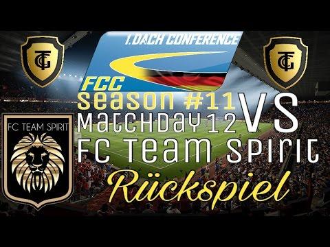 FCC DACH Conf 1 Season #11 l Matchday 12 Vs FC Team Spirit l Rückspiel