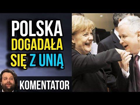 Tajne Porozumienie Kaczyński Merkel - Polska Dogadała się z Unia Europejską
