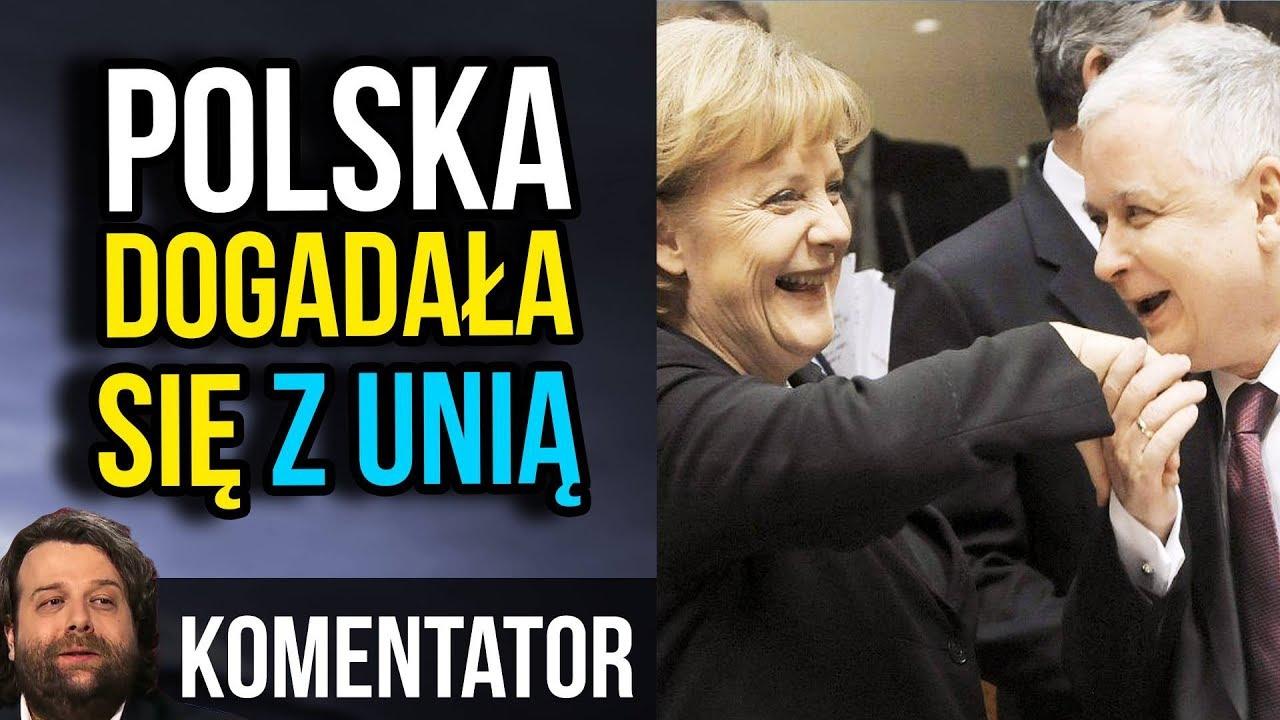 Tajne Porozumienie Kaczyński Merkel – Polska Dogadała się z Unia Europejską