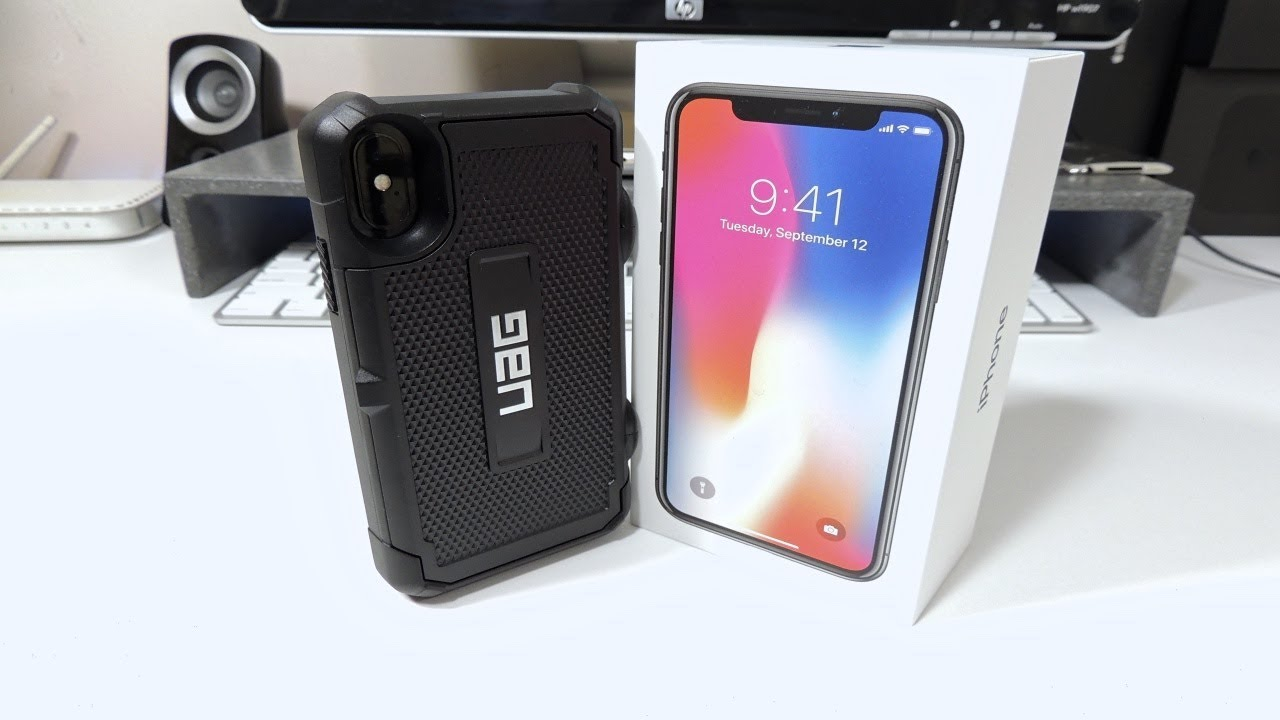 52ce840ab68078 UAG Trooper iPhone X Case - YouTube