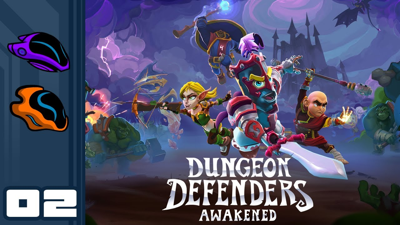 Let's Play Dungeon Defenders: Awakened [Closed Beta] – PC Gameplay Part 2 – Hands-Off Defense