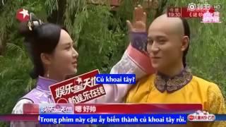 [Vietsub] Phim Long Châu Truyền Kỳ - Phỏng Vấn Dương Tử và Tần Tuấn Kiệt