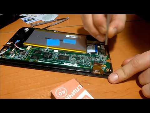 Ремонт разьема питания планшета Prestigio Multipad 2 Pro Duo 7