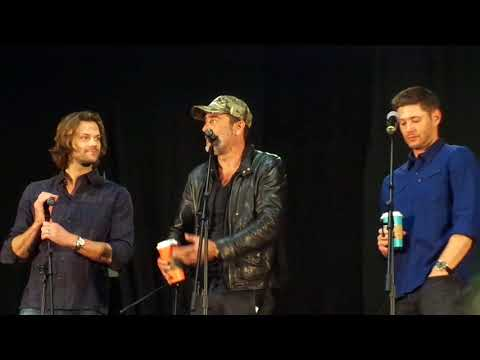 Gold Panel PT 1 Jensen Ackles, Jared Padalecki, Jeffrey Dean Morgan NJ Con 2017