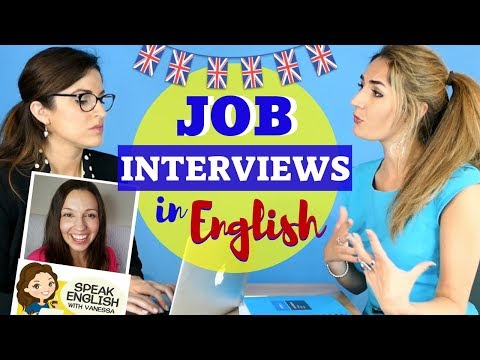 HOW to SUCCEED in your JOB INTERVIEW: Language and Tips