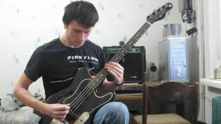 Cryptopsy - Mutant Christ (bass cover)