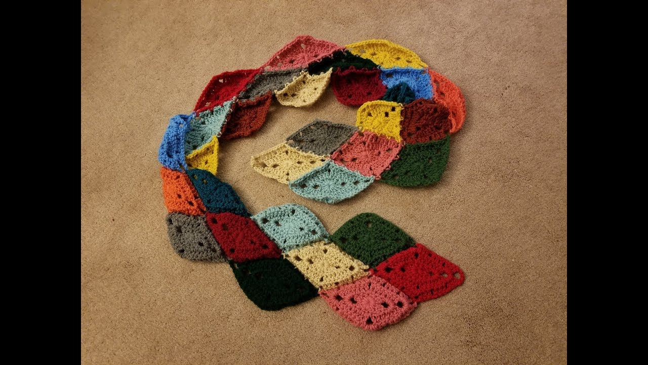 The Harlequin Stained Glass Crochet Tutorial Youtube