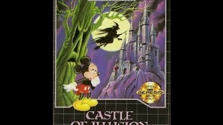Castle of Illusion starring Mickey Mouse Прохождение (Sega Rus)