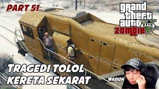 GTA 5 ZOMBIE SEASON 2 | HUTAN KOTA DI PADANG PASIR GRAPeSEED - Part 51