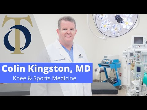 Introduction to Colin Kingston, MD