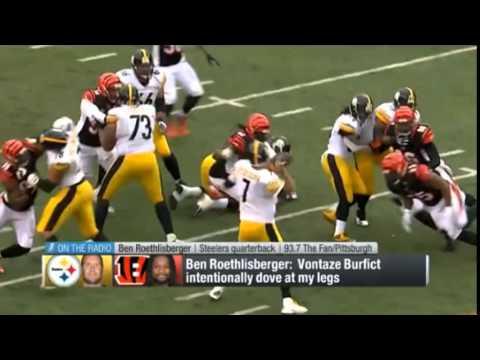 0dc6d07b0 Steelers Want Vontaze Burfict Punished For His Latest Dirty Hit On Antonio  Brown