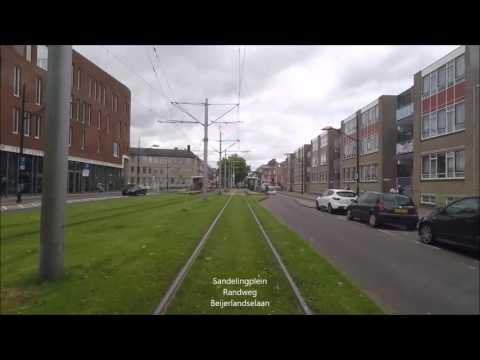 Cabinerit RET tram 25 (Omleiding Blijdorp)