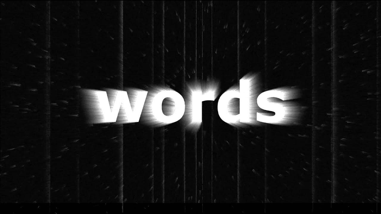 Words by caskey