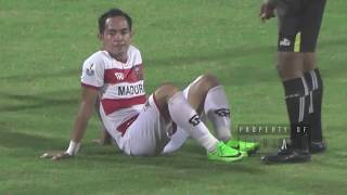 MADURA UNITED AWAY KE SRIWIJAYA FC TANPA SLAMET NURCAHYO